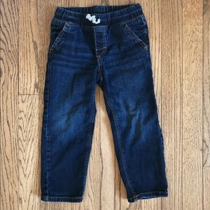 JUMPING BEANS | Drawstring pull up jeans | Size 3T